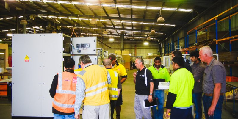Final Testing DaRa Electrical Engineering Manufatucre