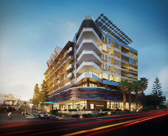 vetroblu residential building