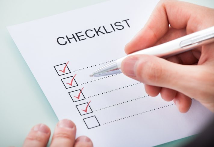 checklist for switchboard maintenance